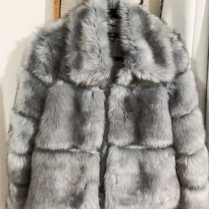 Misguided Premium Crop Pelted Faux Fur jacket